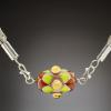 Kim Adams, glass bead jewelry and fused glass